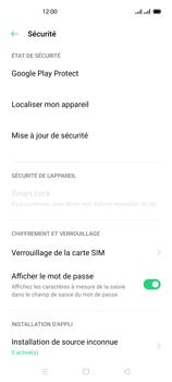 Oppo Reno 4 - Sécuriser votre mobile - Personnaliser le code PIN de votre carte SIM - Étape 5