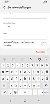 Samsung Galaxy S9 - Android Pie - E-Mail - Konto einrichten - Schritt 15