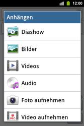 Samsung Galaxy Ace i - MMS - Erstellen und senden - 14 / 19
