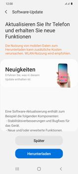 Samsung Galaxy S20 5G - Software - Installieren von Software-Updates - Schritt 7