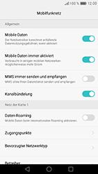Huawei Nova - Ausland - Im Ausland surfen – Datenroaming - 8 / 12
