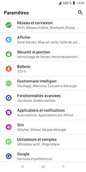 Alcatel 3L - Applications - Supprimer une application - Étape 4