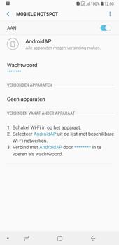 Samsung Galaxy A7 (2018) - Internet - mijn data verbinding delen - Stap 12