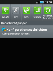 Samsung Galaxy Mini - Internet - Automatische Konfiguration - 6 / 11