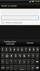 HTC One X Plus - E-mail - Configuration manuelle - Étape 7