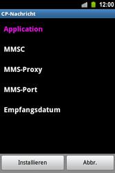 Samsung S5830 Galaxy Ace - MMS - Automatische Konfiguration - Schritt 7