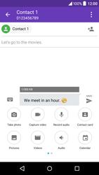 Alcatel OT-6039Y Idol 3 (4.7) - MMS - Sending pictures - Step 12