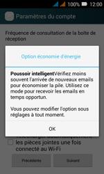 Huawei Y3 - E-mail - Configuration manuelle (outlook) - Étape 8