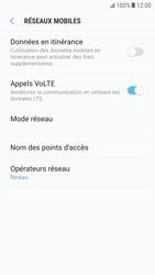 Samsung Galaxy S6 - Android Nougat - Réseau - Sélection manuelle du réseau - Étape 6
