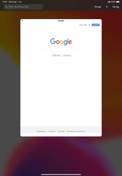 Apple iPad Pro 11 (2018) - iPadOS 13 - Internet und Datenroaming - Verwenden des Internets - Schritt 12