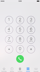 Apple iPhone 6 - Voicemail - Manual configuration - Step 3