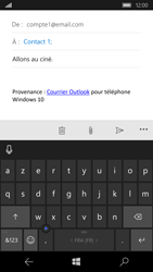 Microsoft Lumia 950 - E-mail - envoyer un e-mail - Étape 7