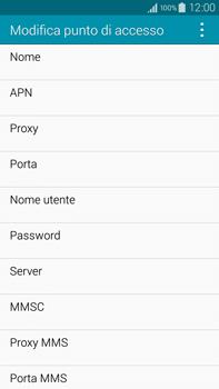 Samsung Galaxy Note 4 - Internet e roaming dati - Configurazione manuale - Fase 10