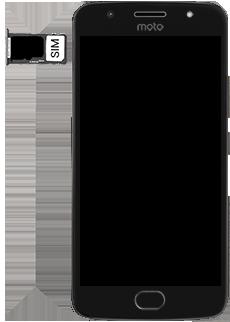 Motorola Moto G5s - SIM-Karte - Einlegen - 5 / 8
