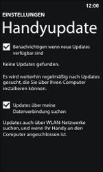 Nokia Lumia 800 / Lumia 900 - Software - Installieren von Software-Updates - Schritt 6