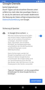 Sony Xperia XZ3 - Apps - Konto anlegen und einrichten - Schritt 19