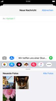 Apple iPhone 8 Plus - iOS 13 - MMS - Erstellen und senden - Schritt 13