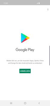 Samsung Galaxy S10 Plus - Apps - Konto anlegen und einrichten - Schritt 4