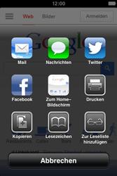 Apple iPhone 4S - Internet und Datenroaming - Verwenden des Internets - Schritt 6