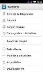 Alcatel One Touch Pop C3 - Téléphone mobile - Réinitialisation de la configuration d