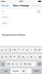 Apple iPhone 5c - E-mails - Envoyer un e-mail - Étape 4