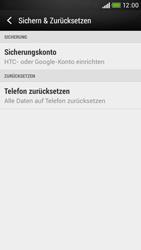 HTC Desire 601 - Fehlerbehebung - Handy zurücksetzen - 7 / 11