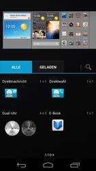 Huawei Ascend P6 - Startanleitung - Installieren von Widgets und Apps auf der Startseite - Schritt 8