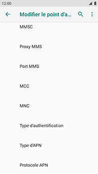 Xiaomi Mi A1 - Internet - Configuration manuelle - Étape 12