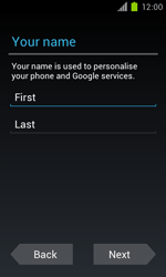 Samsung Galaxy S II - Applications - Setting up the application store - Step 5