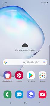 Samsung Galaxy Note 10 - WiFi - WiFi Calling aktivieren - Schritt 3