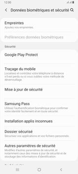 Samsung Galaxy A80 - Prise en main - Comment activer un code SIM - Étape 5
