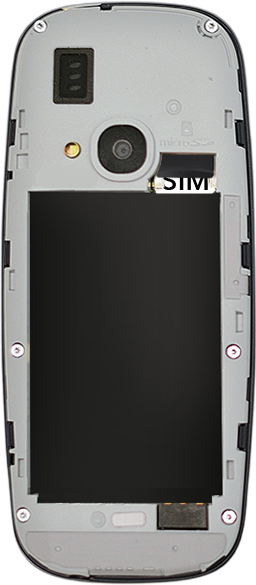 Nokia 3310 - SIM-Karte - Einlegen - 0 / 0