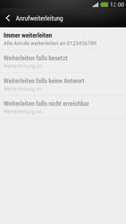 HTC One Mini - Anrufe - Rufumleitungen setzen und löschen - Schritt 8