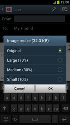 Samsung I9300 Galaxy S III - E-mail - Sending emails - Step 12
