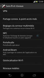 Sony Xperia V - Réseau - Sélection manuelle du réseau - Étape 5