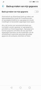 Huawei P Smart Plus - toestel resetten - back-up maken met jouw account - stap 8