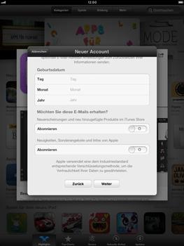 Apple iPad mini - Apps - Konto anlegen und einrichten - 15 / 21