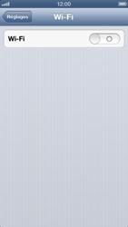 Apple iPhone 5 - Wifi - configuration manuelle - Étape 3