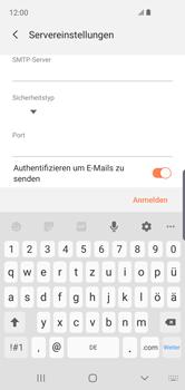 Samsung Galaxy S10e - E-Mail - Konto einrichten - Schritt 13