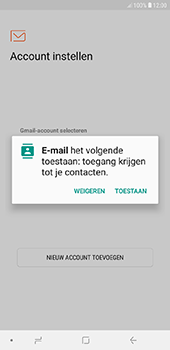 Samsung Galaxy J6 Plus - e-mail - handmatig instellen - stap 5