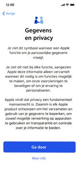 Apple iphone-11-model-a2221 - Instellingen aanpassen - Nieuw toestel instellen - Stap 11