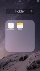 Apple iPhone 6 Plus - iOS 8 - Startanleitung - Personalisieren der Startseite - Schritt 7