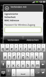 HTC S510e Desire S - WLAN - Manuelle Konfiguration - Schritt 8