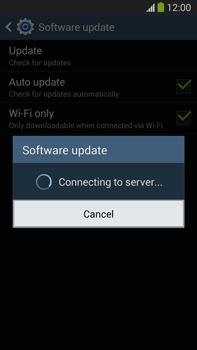 Samsung Galaxy Note III LTE - Software - Installing software updates - Step 10