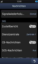 Samsung S8500 Wave - SMS - Manuelle Konfiguration - Schritt 5