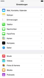 Apple iPhone 6 Plus iOS 8 - Anrufe - Rufumleitungen setzen und löschen - Schritt 3