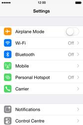 Apple iPhone 4 S - iOS 8 - Internet - Manual configuration - Step 3