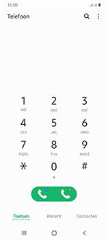 Samsung Galaxy S20 5G Dual-SIM eSIM SM-G981B - Voicemail - Handmatig instellen - Stap 4