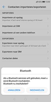 Huawei Mate 10 Lite - Contactgegevens overzetten - delen via Bluetooth - Stap 9