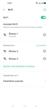 Oppo A53s - Internet et connexion - Accéder au réseau Wi-Fi - Étape 8